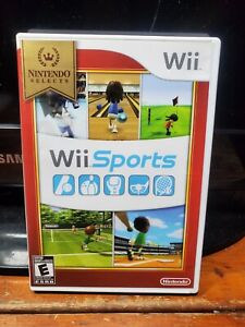 Wii Sports (Nintendo Selects) - Nintendo Wii - Complete w/manual - TESTED