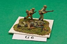 SGTS MESS G06 1/72 Diecast WWII German MG42 Teams-4 Figures