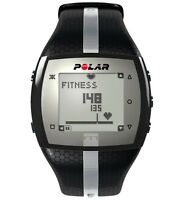 Polar FT7 Heart Rate Monitor w/ H1 Transmitter Strap - Mens Black Silver - NEW
