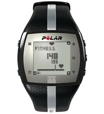Polar FT7 Heart Rate Monitor w/ H1 Transmitter Strap - Mens Black Silver - NEW