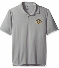 Adidas Men's Houston Dynamo Soccer Gray Polo Jersey Medium M MLS US