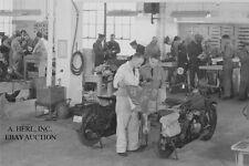 Harley-Davidson 45 WLA Liberator - HD factory service school 1941 - motorcycle