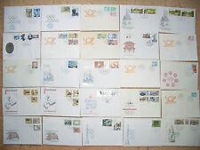 DDR - Briefmarken - Sammlung - Lot - 1980 - ETB - FDC