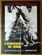 EMPEROR OF THE NORTH ORIGINAL POSTER LEE MARVIN