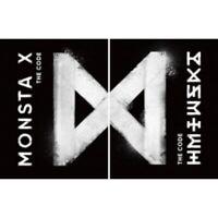 Monsta X-[The Code]5th Mini Album 2 Ver Set CD+Poster+Booklet+Card Kpop Sealed