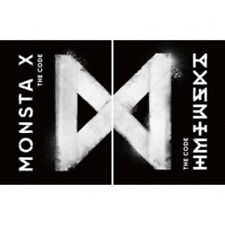 Monsta X-[The Code]5th Mini Album 2 Ver Set CD+Poster+Booklet+Card Kpop Sealed
