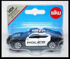 Siku 1404 US PATROL CAR DODGE CHARGER Scale About 1/64 New POLICE DIECAST CAR