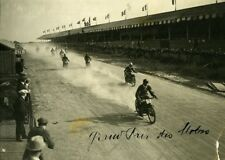 France Circuit of Touraine Sport Grand Prix 500CC Motorcycles Old Photo 1923