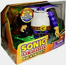 "Sonic The Hedgehog 4"" BIG the Cat & Froggy New Over 12 Points of Articulation"