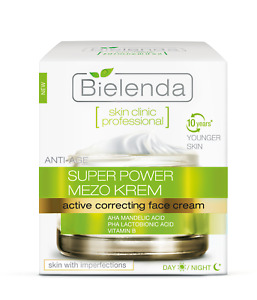 Bielend Skin Clinic Power Mezo Correcting Face Cream Imperfection Skin 50ml