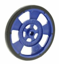 Blue mobile robot wheel for servo motor