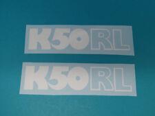 Hercules K 50 RL Seitendeckel Sticker Schriftzug Dekor Aufkleber Bj.1977-80