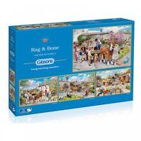 Gibsons Rag & Bone - 4 x 500 Piece Puzzle