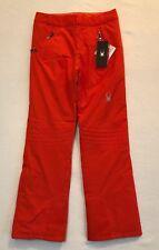 2018 Spyder Winner Tailored Snow Pants Womens Size 10-R Orange 564237 626