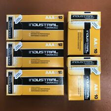 Duracell 30 AAA and 20 AA Industrial Battery 50 Procel Batteries Longest Expiry
