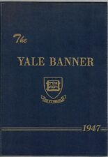 1947 Yale University Banner Original Yearbook President George H W Bush Photos