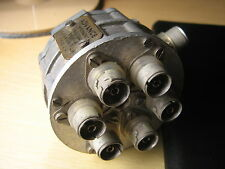 COAXIAL SWITCH 1 POLE 6 WAY BY ADVANCE ELECTRONICS TYPE CS,