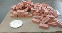 1000 1:12th Scale Miniature Dolls House War Gaming Model Railway Bricks