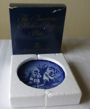 Royal Copenhagen The Mothers Day Plate Native Love Call 1989 Collectible