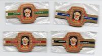 Vitolas. Serie Rubens - Papas, serie 2. 24 vitolas. Cigar Bands.