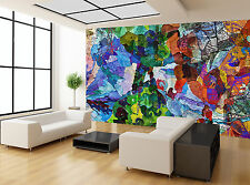 Colours Abstract Style Painting Art Wall Mural Photo Wallpaper GIANT WALL DECOR