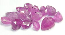 52.55 Ct Natural Ruby Pear Cut 14 Pieces Wholesale Astrological gemstone lot