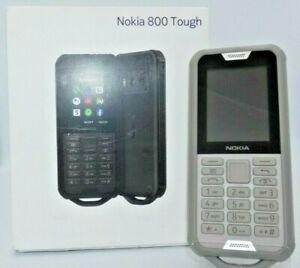 """✅ Handy Nokia 800 Tough Dual SIM Grey 2,4"""" Kai OS 4G LTE Wi-Fi FM Radio Kamera"""