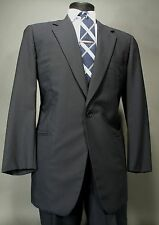 Vestimenta Wool Suit Navy Full Canvas 52 Eu 42R US  2 Button By Armani