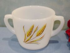 Anchor Hocking Fire King Wheat Sugar Bowl
