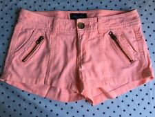 american eagle shorts size 2, Neon, Zippers