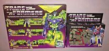 Transformers Vintage G1 Constructicon Devastator & Starscream ReRelease **NEW**