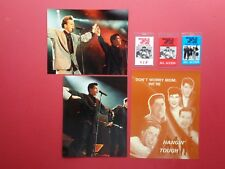 New Kids On The Block,2 color photos,3 Backstage passes,Door sign,Rare Originals