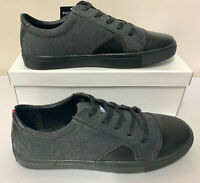 LAMBRETTA Black & Grey Felt Sneakers Pumps Shoes Trainers  *SALE* RRP £50