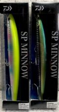 """(2) Daiwa SP Minnow Floating 1 1/9oz 6"""" 3'+ Saltwater Jerkbait Good Colors GL4"""