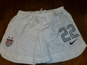 USWNT Nike official match shorts version worn by Christen Press #22 size M