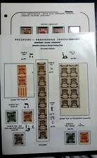 Palestine stamps collection 1920 - 1922 Mint & Used.