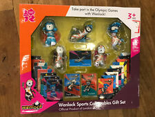 London Olympics 2012 Wenlock Sports Collectibles Gift Set BRAND NEW Figures