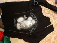 DISNEY SHOP black cotton  jacket sz S