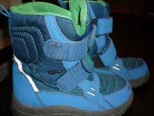 Stiefel,Richter,blau,Gr.31,Klettverschluss,leicht,gefüttert,Sympatex
