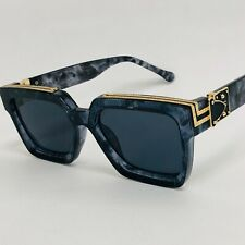 Oversize Sunglasses Thick Frame Square J Balvin Royale Shades 2020 For Men women
