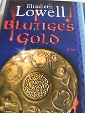 """""""Blutiges Gold"""" von Elizabeth Lowell - Krimi - Weltbild Taschenbuch - ungelesen"""