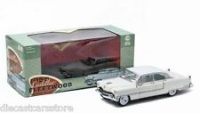 GREENLIGHT 1955 CADILLAC FLEETWOOD SERIES 60 1/18 WHITE with WHITE ROOF 12938 12