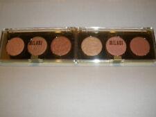 New Sealed Milani Rose Powder Blush Trio Palette CHOOSE your Shade