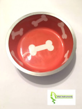 Small Pet Cat Dog Puppy Kitten Food Water Bowl Dish Anti-Skid Stainless