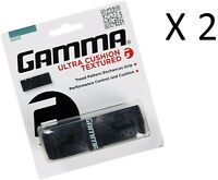 Lot of 2 Gamma Tennis Racquet Racket Replacement Grips Premium Quality