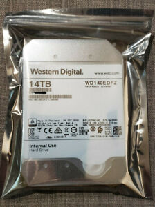 "14TB Western Digital Hard Drive WD140EDFZ 512MB 5400RPM 3.5"" SATA 6Gb/s"