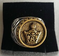 J-MIDDLE EAST,STUNNING IMPERIAL CROWN RING,SIZE UK P,US AND CANADA 7 3/4.9.1 GR