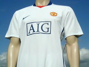 BNWT Manchester United Shirt Player Issue 2008-09 Champions League XL Defect