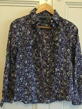 Tommy Hilfiger Ladies Long Sleeve Floral Shirt XS