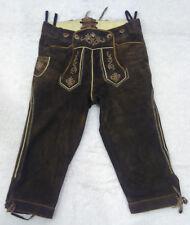 LEDERHOSEN Pantaloni corti da uomo di pelle scamosciata ALMSACH